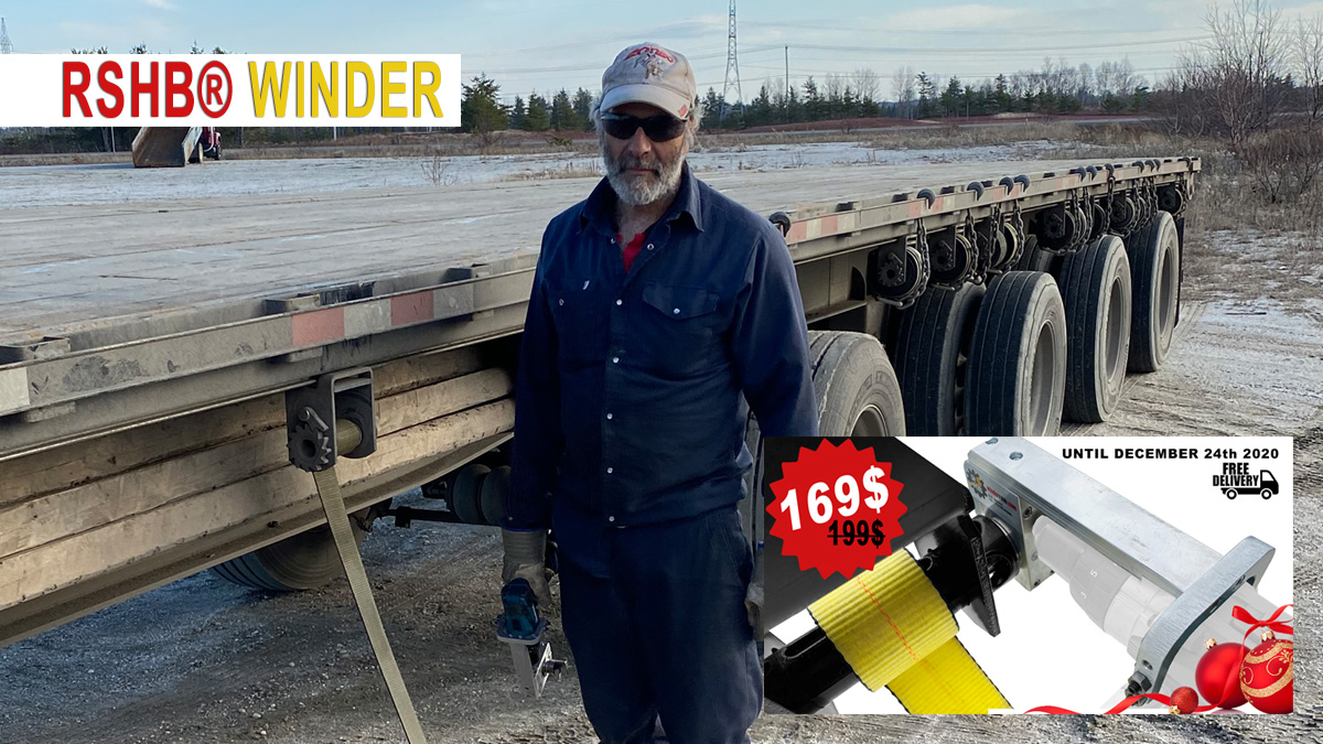 """""""With the RSHB strap winder, the job gets done with a Nice, Neat, and Tight roll"""" – DANY TANGUAY"""