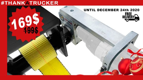 Tie-down strap winder for flatbed : big holiday sale fi